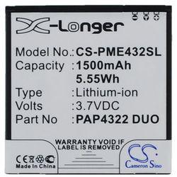 Prestigio MultiPhone 4322 Duo / PAP4322 DUO 1500mAh 5.55Wh Li-Ion 3.7V (Cameron Sino)