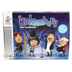Gra planszowa KALAMBURY edukacyjna Beniamin