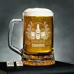 Najlepszy Dziadek - Personalizowany Kufel - Kufel do piwa