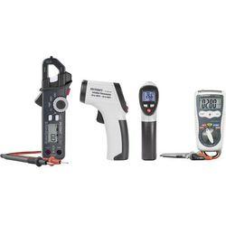 Zestaw pomiarowy multimetr cyfrowy, pirometr, miernik cęgowy VOLTCRAFT DT-Test-Kit 200, CAT IV 600 V