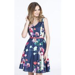 Wiosenna sukienka w kwiaty