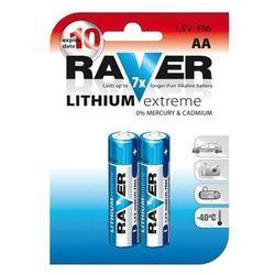 Raver baterie lithiová FR6 2BL, 2ks; 1321212000