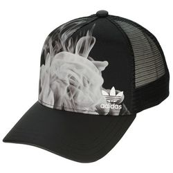 czapka z daszkiem adidas Originals White Smoke Trucker - Black