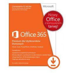 Microsoft Office 365 Home dla Użytkowników Domowych 32/64 Bit PL - licencja na rok ESD