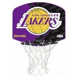 Mini tablica SPALDING Los Angeles Lakers z piłką