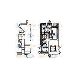 HELLA Regulator, wentylator nawiewu do wnętrza pojazdu - 5HL351321-141