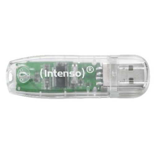 Pamięć INTENSO Rainbow Line 32 GB Transparentny