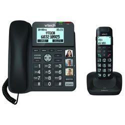 Telefon bezprzewodowy VTECH LS1650 Czarny + DARMOWY TRANSPORT! + Zamów z DOSTAWĄ JUTRO!