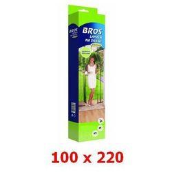 Lamela siatka na drzwi przeciw owadom 100x220cm czarna PREMIUM BROS