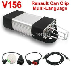 Newest Version V156 Renault Can Clip Professional Diagnostic Tool Supports Multi-Language Renault Can Clip for Renault Scanner