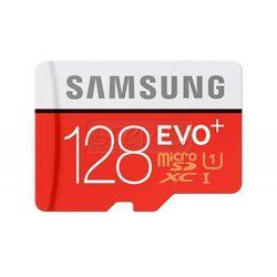 Karta pamięci Samsung Micro SD z adapterem EVO+ R80/W20 128GB - MB-MC128DA/EU