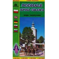 Podhale Spisz Orawa mapa 1:50 000 Sygnatura (opr. miękka)