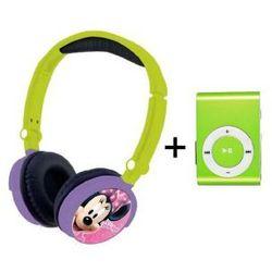 Słuchawki Dla Dzieci Myszka Minnie Odtwarzacz MP3
