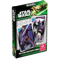 Talia kart do gry Star Wars Kwartet