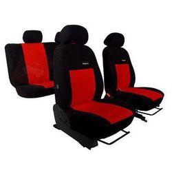 Pokrowce samochodowe ELEGANCE Czerwone Hyundai i40 od 2011 - Czerwony