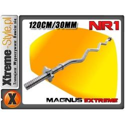 Gryf 120cm lekko łamany gwint MX2215 MAGNUS EXTREME