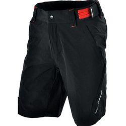 Męskie MTB spodnie rowerowe Silvini ELVO MP809 black-red