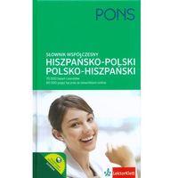 Słownik współczesny hiszpańsko-polski polsko-hiszpański