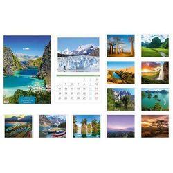 Kalendarz 2016 13 planszowy A3 Dookoła świata