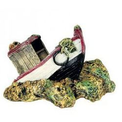 Zolux Kuter rozbity na skale