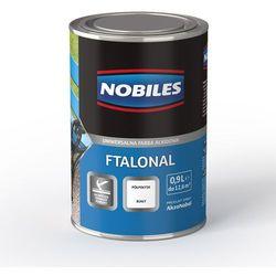 Emalia alkidowa Ftalonal Brązowy półpołysk 0,25L Nobiles