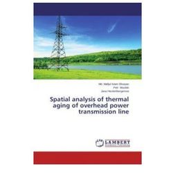 Spatial analysis of thermal aging of overhead power transmission line