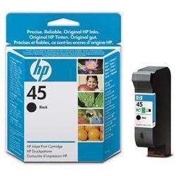 Tusz HP 45 / 51645GE Black do drukarek (Oryginalny) [21 ml]
