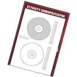 Etykiety samoprzylepne białe na CD FI117/2szt(100)