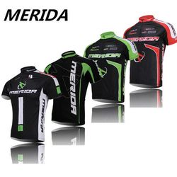 2016 Green Red Merida Cycling clothing /bike sport bicycle road Cycling jersey short sleeve/ Cycling wear/Breathable/quick dry