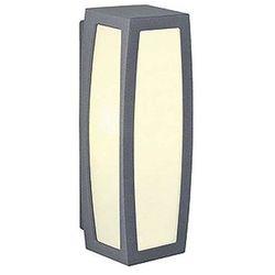 Zewnętrzna LAMPA ścienna MERIDIAN BOX 230085 Spotline kinkiet OPRAWA do ogrodu IP54 outdoor z czujnikiem ruchu antracyt