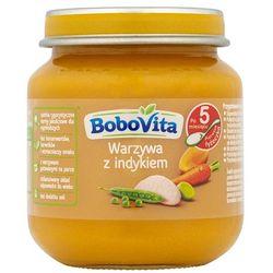 BOBOVITA 125g Obiadek Warzywa z indykiem po 5 miesiącu życia