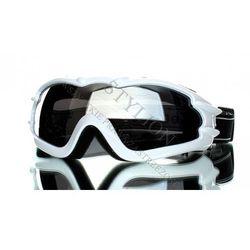 GOGLE KOESTLER NARCIARSKIE NARTY SNOWBOARD Białe 110