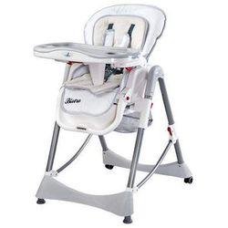 Krzesełko do karmienia Bistro białe