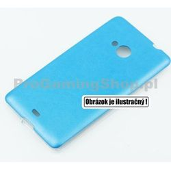 Etui Jelly Leather na HTC Desire 620, Blue