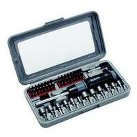 Zestaw narzędzi Bosch 46 części, wkrętaki Metal+Plastik