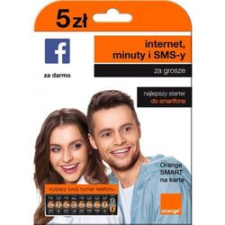Starter ORANGE SMART na kartę 5 PLN