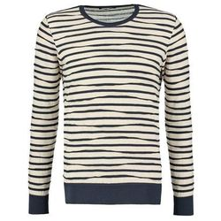 Roberto Collina Sweter blue/yellow/white stripes