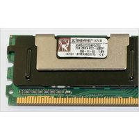 Pamięć RAM 1x 2GB Kingston ECC FULLY BUFFERED DDR2 667MHz PC2-5300 FBDIMM | KVR667D2D4F5/2G