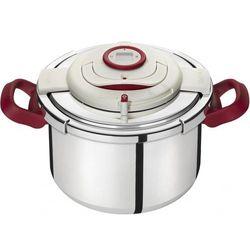 Szybkowar 8l Tefal Clipso Precision+ P4411463 + koszyk do gotowania na parze