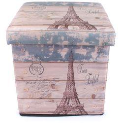 Pudełko składane do siedzenia Wieża Eiffla, SKT-005