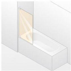 Parawan nawannowy 1- częściowy Huppe Studio Berlin Pure lewy , chrom mat, szkło przeźroczyste BR0409.E05.321