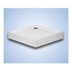 Brodzik kwadratowy Hüppe Xerano 90 x 90 x 6 cm, biały, zintegrowana obudowa 840102055