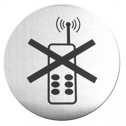 Tabliczka Zakaz używania telefonu