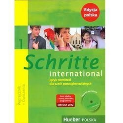 Schritte international 1 edycja polska. Pakiet (podręcznik + ćwiczenia + zeszyt ucznia XXL + CD do ćwiczeń) (opr. miękka)