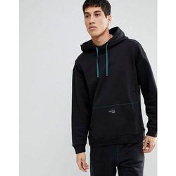 adidas Originals adicolor Velour Sweatshirt In Oversized Fit In Black CY3551 Black