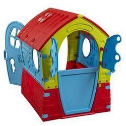 Domek dla dzieci Marian Plast 2014 FAIRY House Czerwony/Niebieski/Zielony