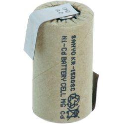 Akumulator NiCd Sanyo Sub-C, 1,2 V, 1500 mAh, ZLF