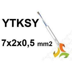 KABEL TELEFONICZNY 7x2x0,5mm2 YTKSY parowany / 100mb