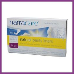 NatraCare Wkładki higieniczne ze skrzydełkami TANGA (typu string) - 30 szt.