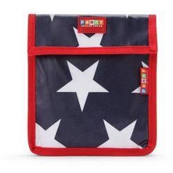 Penny Scallan Design, torebka na przekąski, wielokrotnego użytku, granatowa w gwiazdy Darmowa dostawa do sklepów SMYK